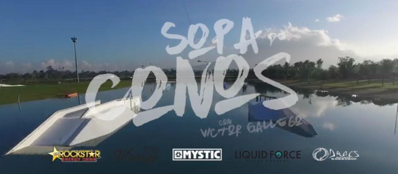 SOPA DE CONOS – Victor Gallego
