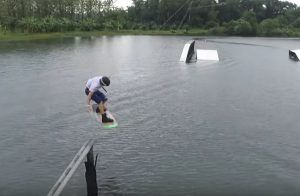 JB Oneill en International Wakepark Tailandia