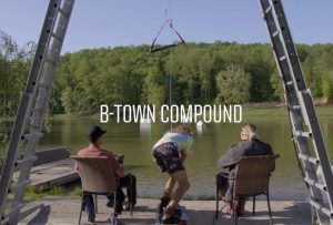 Blake Bishop and Friends at the B Town Compound