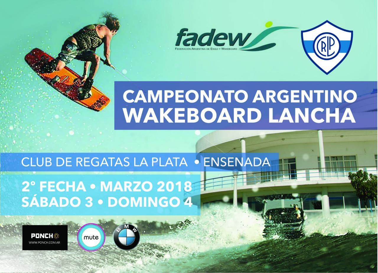 Campeonato Argentino de Wakeboard Lancha / Regatas La Plata