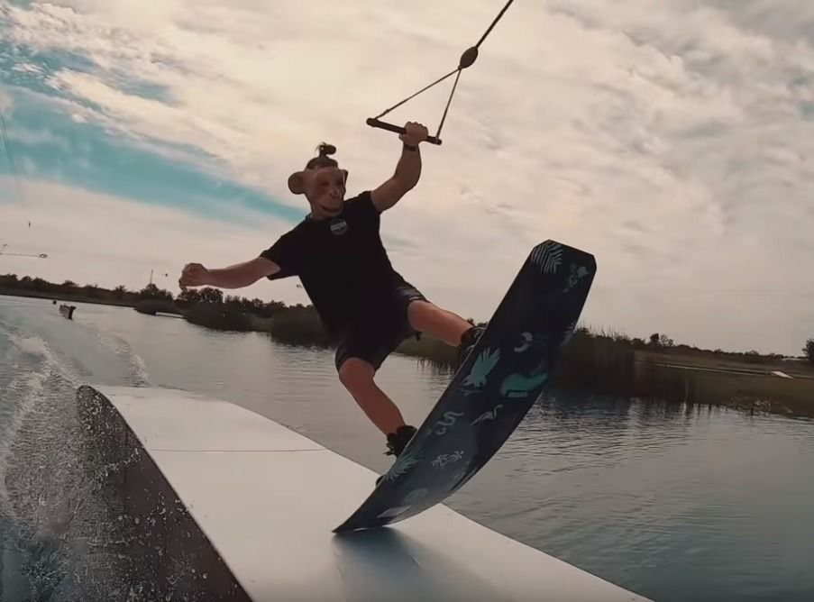 Halloween Wakeboarding en Next Level Ride