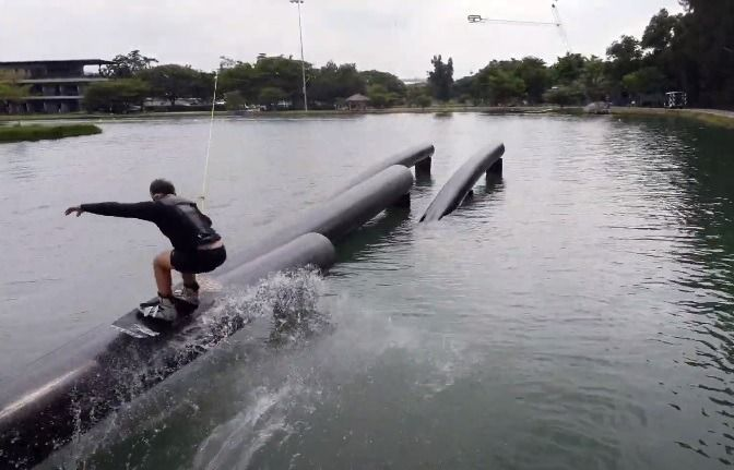 FIRST TIME WAKEBOARDING SINCE COVID 19 – Victor Salmon